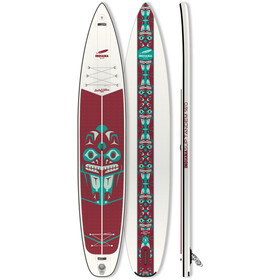 Indiana SUP 16'0 Touring LTD Tandem Puhallettava SUP, white/red